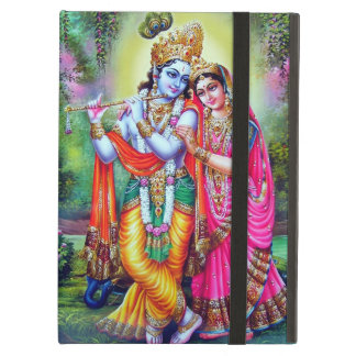 Krishna Radha Vintage Indian Floral Fine Art iPad Air Case