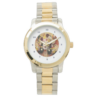 KRISHNA:    Two-Tone  Gold Silver Watch