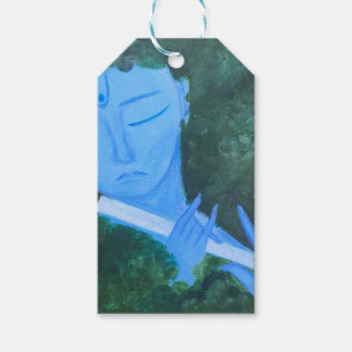 Krishna with Flute Gift Tags