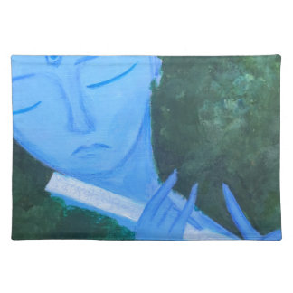 Krishna with Flute Placemat