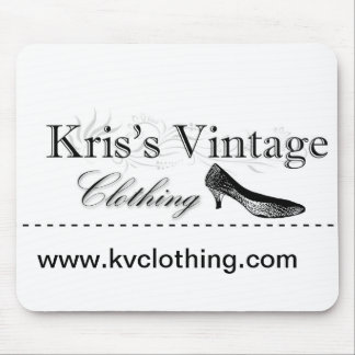Kris's Vintage Clothing Mouse Pad