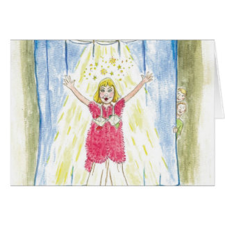 Krista-Link-a-La & the Size 13 Shoes Curtain Call Card