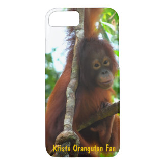 Krista Orangutan Official Fan Club Photo iPhone 8/7 Case