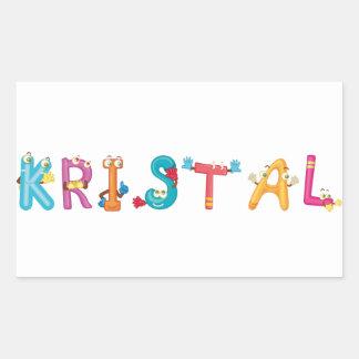 Kristal Sticker