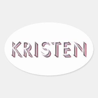 Kristen sticker