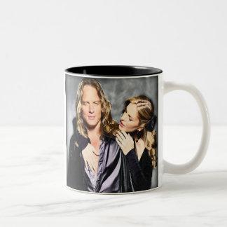 Kristin and Abri van Straten Two-Tone Coffee Mug