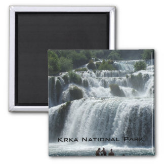 Krka National Park Square Magnet