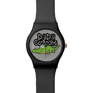 Kroko design wrist watch