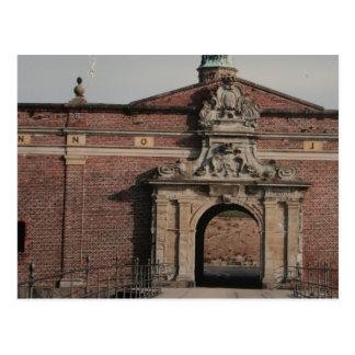 Kronborg Castle Entrance Postcard