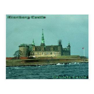 Kronborgs Castle Hamlets Castle In Denmark Postcard