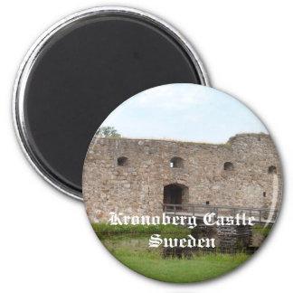 Kronoberg Castle Ruins - Sweden Magnet