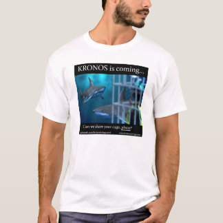 "KRONOS RISING ""SHARK CAGE"" t-shirt"