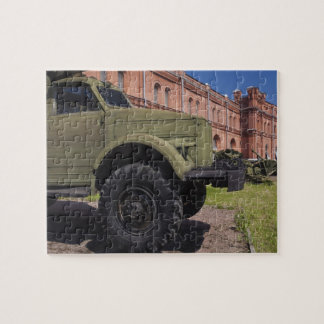 Kronverksky Island, Artillery Museum, truck Puzzles