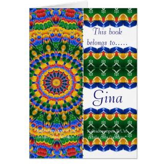 KRU Bookmarks Card *Trippy*