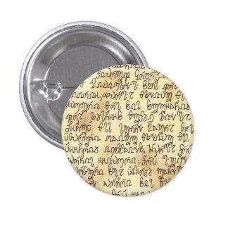 Kruelt Letter 1 Inch Round Button