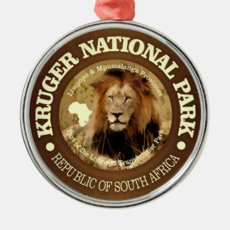 Kruger National Park (C) Metal Ornament