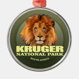 Kruger NP (Lion) WT Metal Ornament