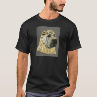 Kruger - Shar Pei Dog Art T-Shirt
