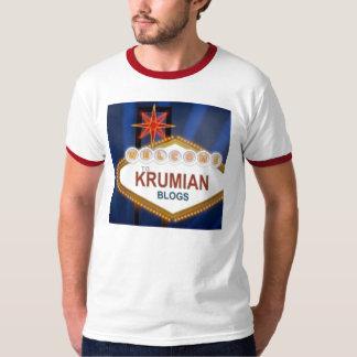 Krumian Blogs Vegas, www.kruminfo.com T-Shirt