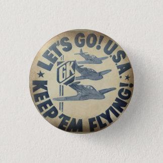 Krupa wartime logo button