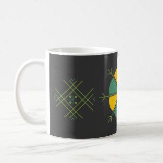Kruze ar latviesu rakstiem kafijai coffee mug