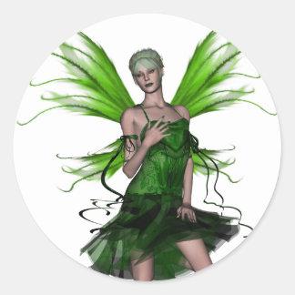 KRW Absinthe - The Green Fairy Classic Round Sticker