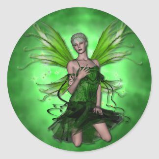 KRW Absinthe The Green Fairy Stickers
