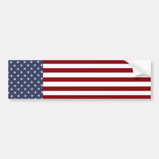 KRW American Flag Bumper Sticker