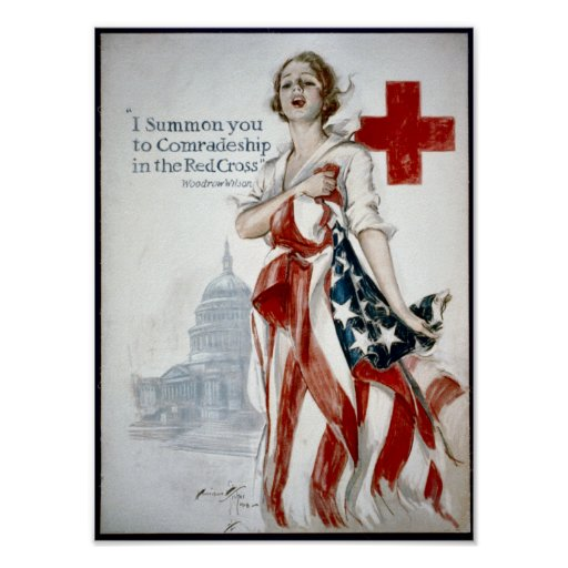 KRW American Red Cross Poster