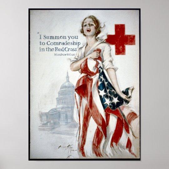 KRW American Red Cross Poster