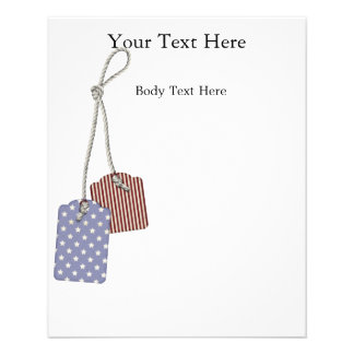 KRW Americana Tags Small Flyer Template