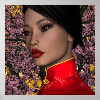 KRW Asia - Oriental Beauty Poster