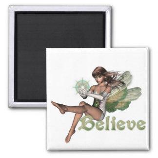 KRW Believe In Faeries Brunette Magnet