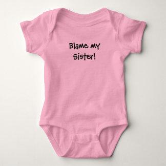 KRW Blame my Sister! Baby Bodysuit
