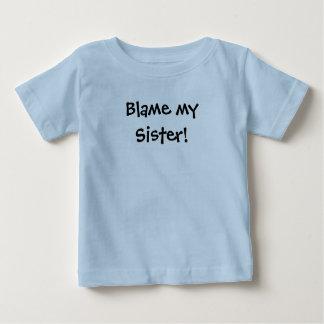 KRW Blame my Sister! Baby T-Shirt