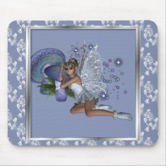 KRW Blue Lace Faery 4 Mouse Pad