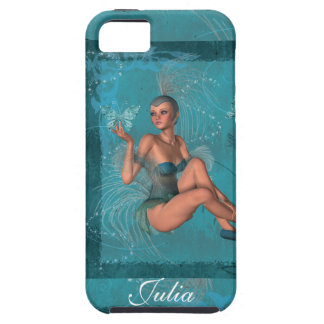 KRW Blue Sprite and the Butterflies iPhone Case