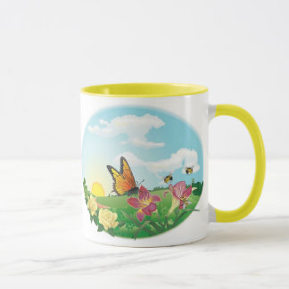 KRW Butterfly Meadow Coffee Mug
