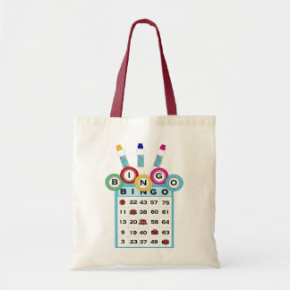 KRW Colorful Bingo Tote Bag