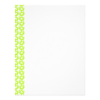 KRW Cool Lime Circle Letterhead