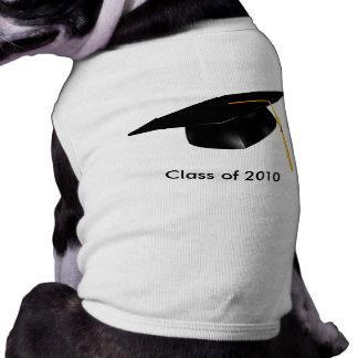 KRW Custom Text Graduation Pet Shirt