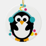 KRW Cute Colourful Penguin and Tree Ornament