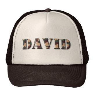 KRW David Camo Hat