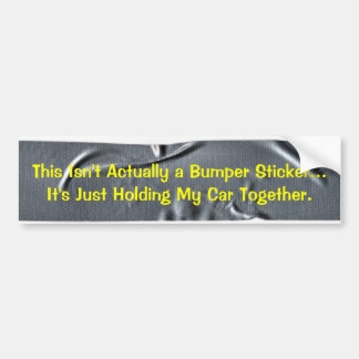 KRW Designer Duct Tape Bumper Sticker