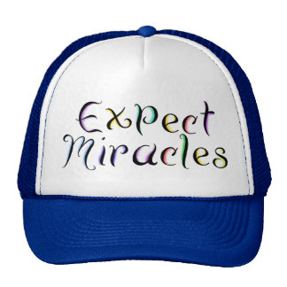 KRW Expect Miracles Trucker Hat