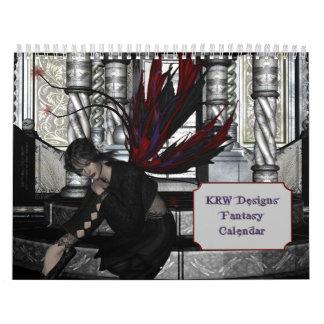 KRW Fantasy Art Calendar 2012