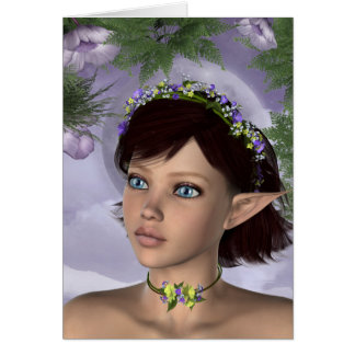 KRW Floral Fairy Fantasy Card