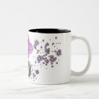 KRW Flower Faery 1 Two-Tone Coffee Mug
