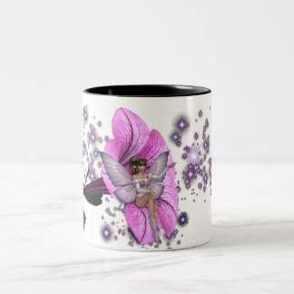 KRW Flower Faery 2 Two-Tone Coffee Mug