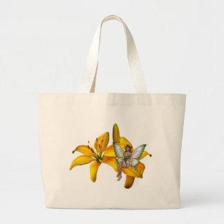 KRW Flower Faery 3 Jumbo Tote Bag